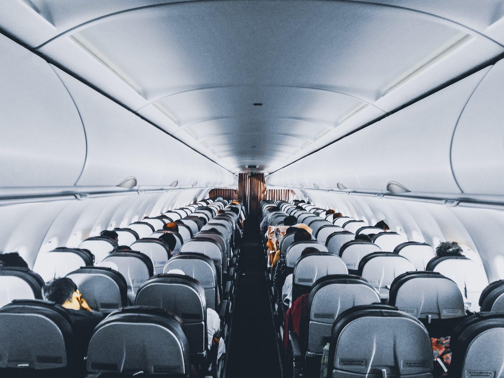commercial aircraft interior